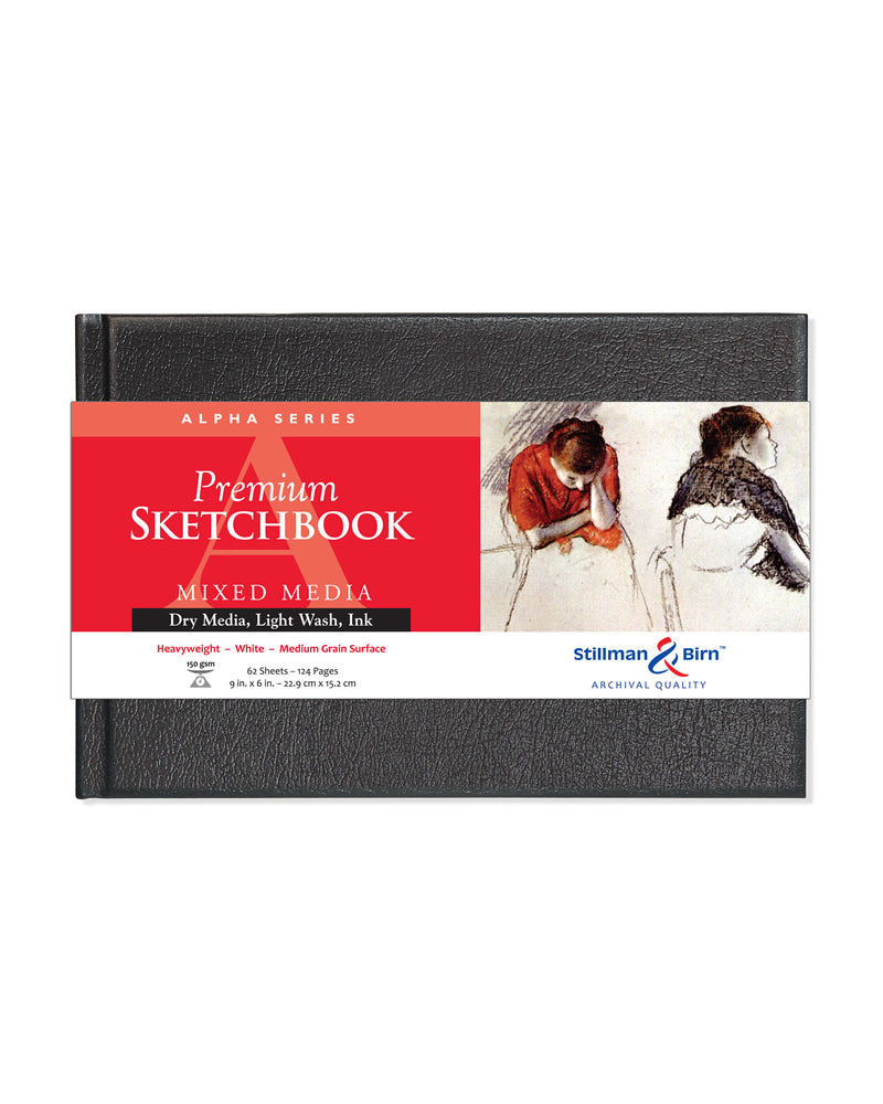 Alpha Series Premium Sketchbook Hardcover