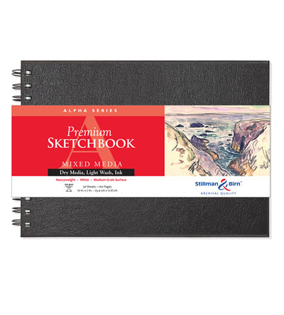 Alpha Series Premium Sketchbook Wirebound