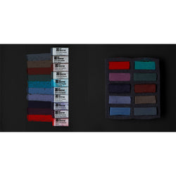 Art Spectrum Extra Soft Square Pastels Box of Ten - Darks