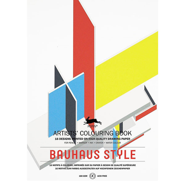 Artists' Colouring Book Bauhaus Style