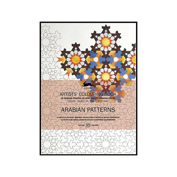 Artists' Colouring Book Arabian Patterns