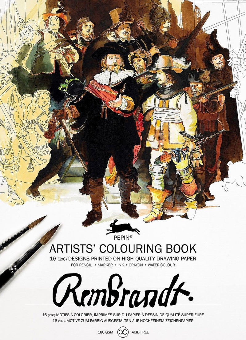Artists' Colouring Book Rembrandt