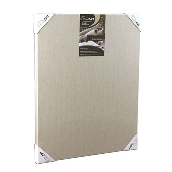 CreateART 450gsm Pure Linen Transparent Canvas