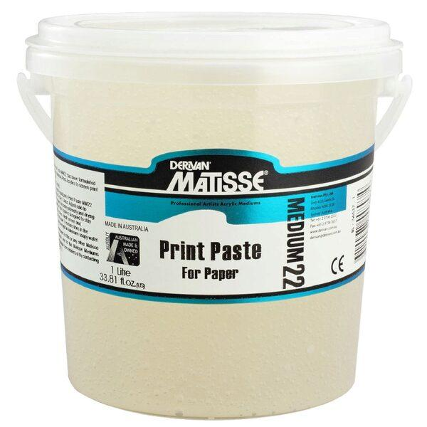 Derivan Matisse MM22 Print Paste - 1l