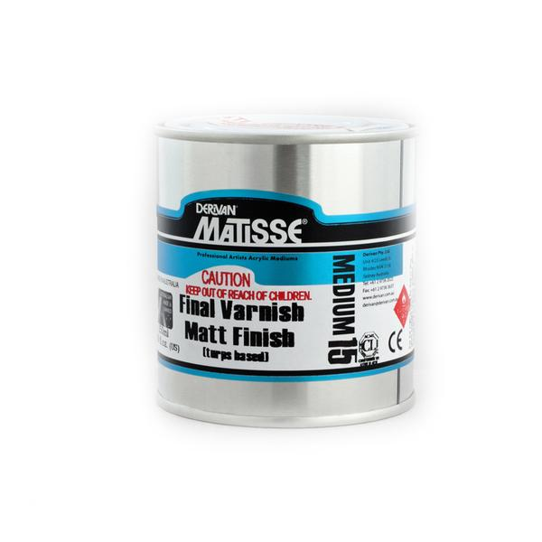 Derivan Matisse MM15 Final Varnish Matt Finish Medium - 250ml