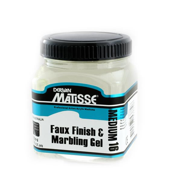 Derivan Matisse MM16 Faux Finish & Marbling Gel Medium - 250ml