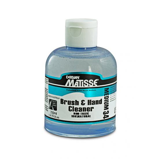 Derivan Matisse MM34 Brush & Hand Cleaner 250 ml