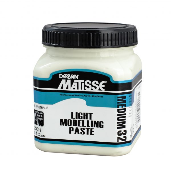 Derivan Matisse MM32 Light Modelling Paste Medium 250 ml