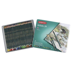 Derwent Artists Pencils Tin of 24