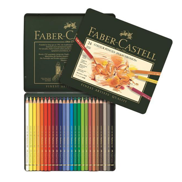 Faber-Castell Polychromos Artist Colour Pencil (Green Colours)