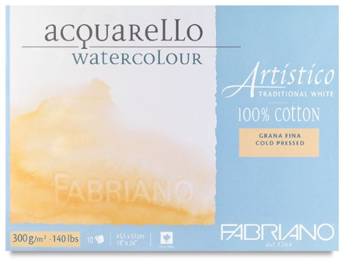 Artistico Water Colour Pads Cold Pressed 140lbs 300gsm