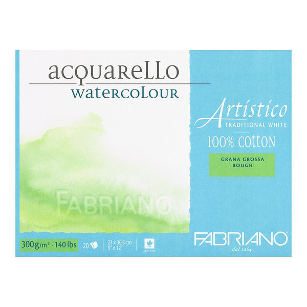 Artistico Water Colour Pads Rough 140lbs 300gsm
