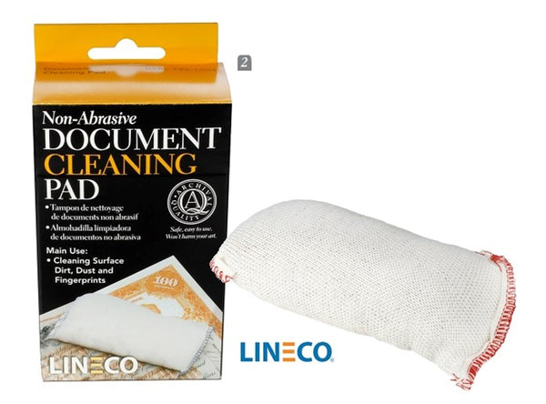 Non-Abrasive Document Cleaning Pad