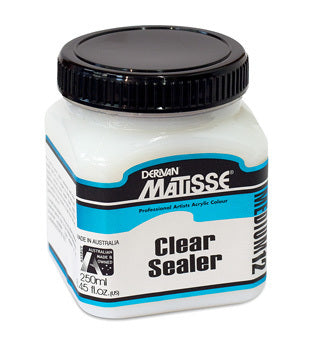 Derivan Matisse MM12 Clear Sealer Medium - 250ml
