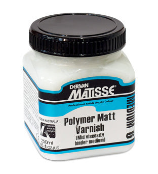 Derivan Matisse MM11 Satin Varnish (Polyurethane) Medium - 250ml