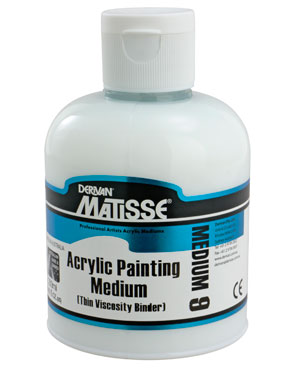 Derivan Matisse MM9 Acrylic Painting Medium 250ml