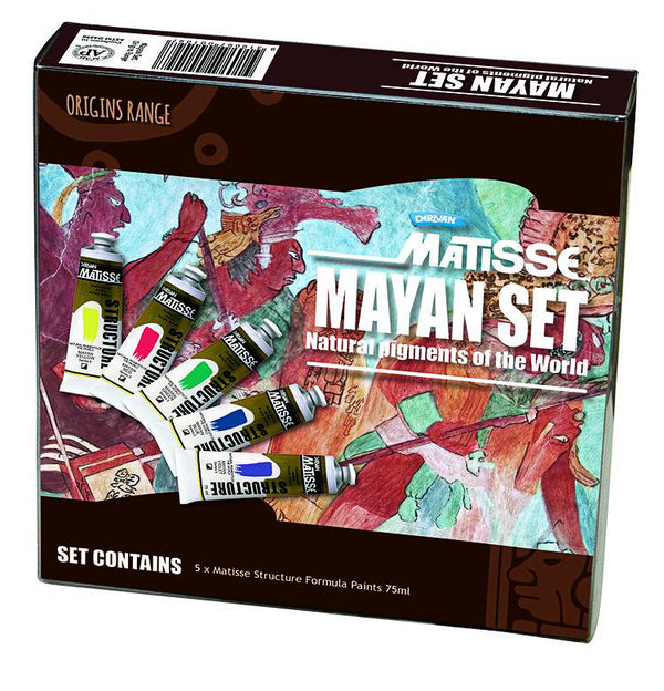Matisse Mayan Set - Natural Pigments of the World