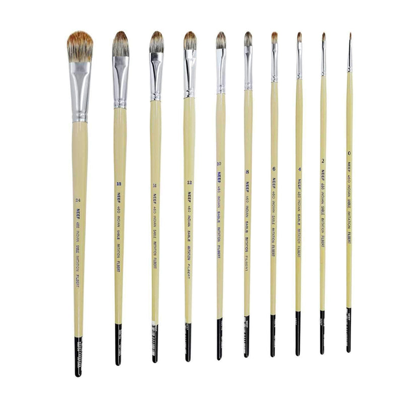 Neef 460 Indian Sable Imitation Filbert Brush