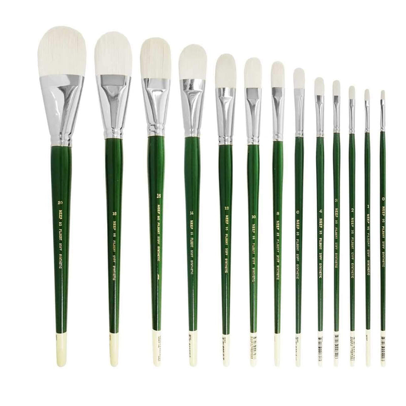 Neef 95 Filbert Stiff Synthetic Brush