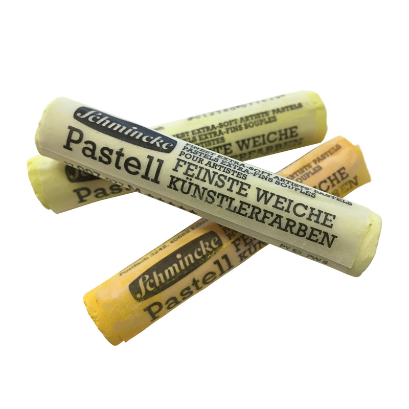 Schmincke Pastell (Yellow Colours)