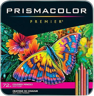 Prismacolor Premier 72 Soft Core Coloured Pencil Set