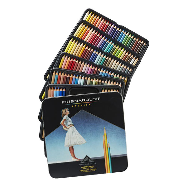 Prismacolor Premier Pencils Browns, Greys, Black, White & Metallics