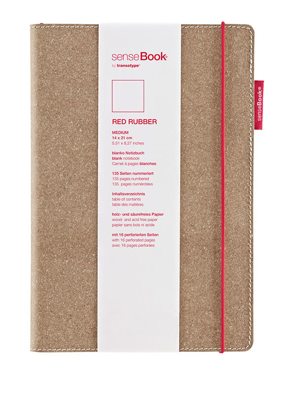 SenseBook by Transotype Red Band Medium