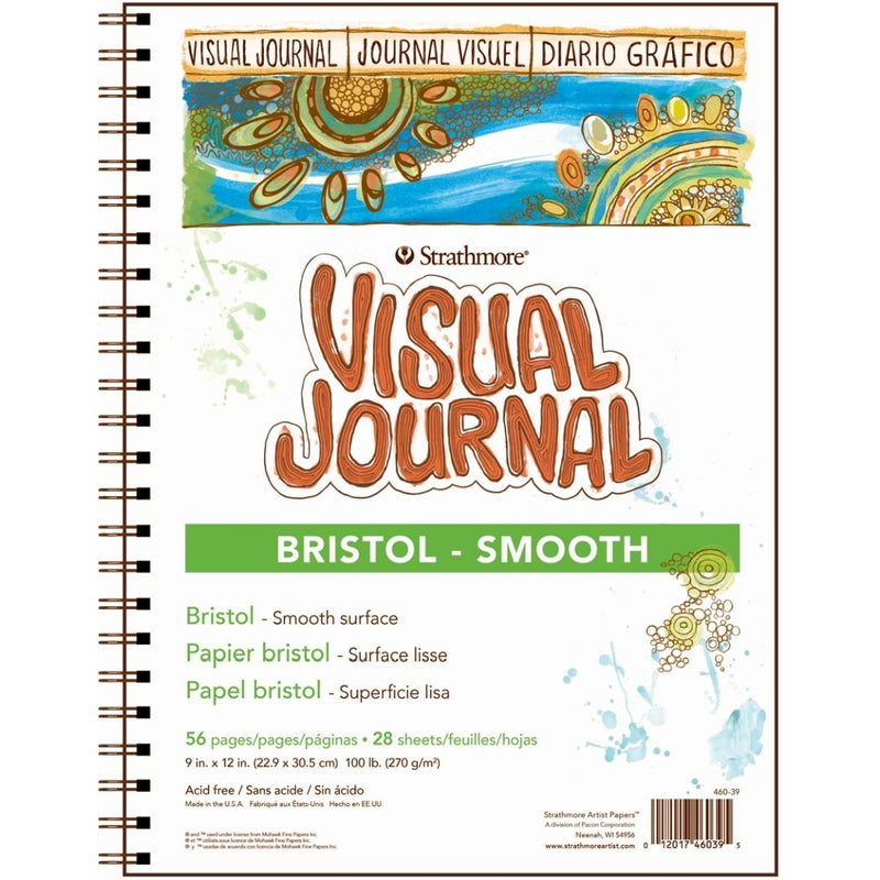 "Strathmore Visual Journal Bristol Smooth (9"" x 12"")"