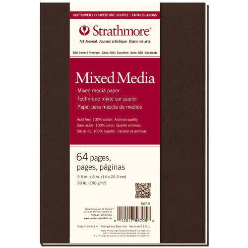 Strathmore Mixed Media Softcover Art Journal 64 Pages