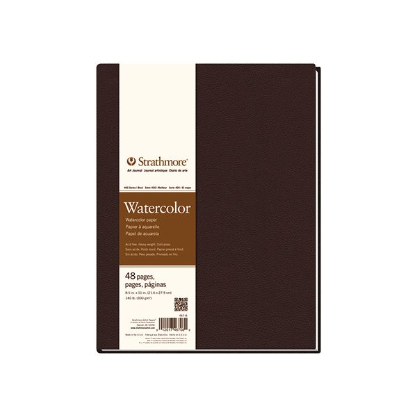 "Strathmore Watercolor Softcover Art Journal 48 Pages (7.75"" x 9.75"")"