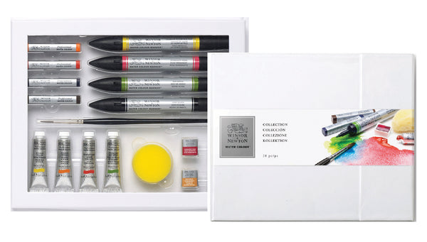 Winsor & Newton Watercolour 28 piece set