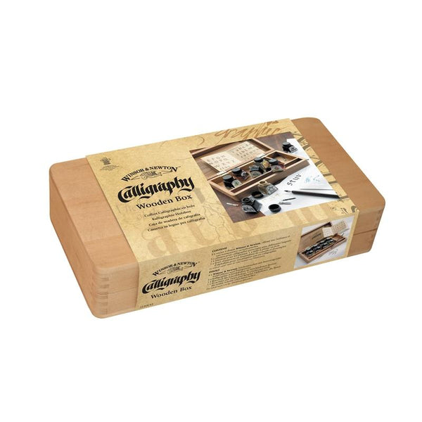 Calligraphy Wooden Box Set