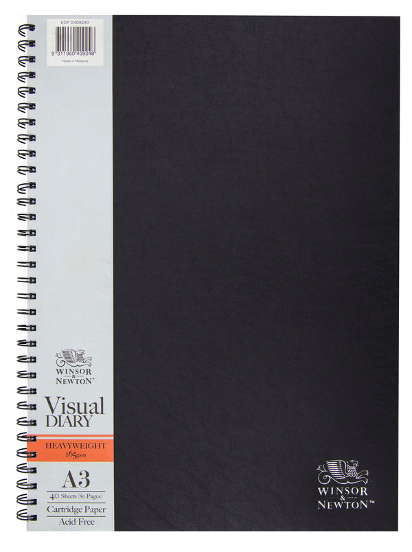 Winsor and Newton Heavyweight 165gsm Visual Diary