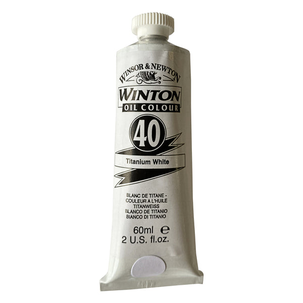 Winsor and Newton Oil Colour 60ml - Titanium White