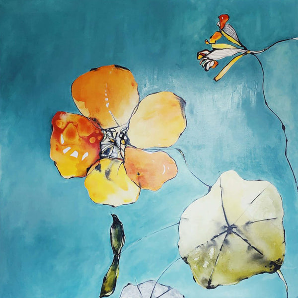 A Little Bit Wonderful (95cm x 95cm)