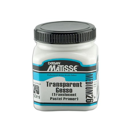 Derivan Matisse MM26 Transparent Gesso Medium 250 ml