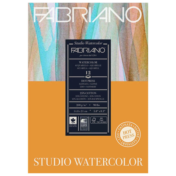 Fabriano Studio Water Colour Pads
