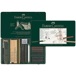 Faber-Castell Pitt Monochrome Set 33 Pieces