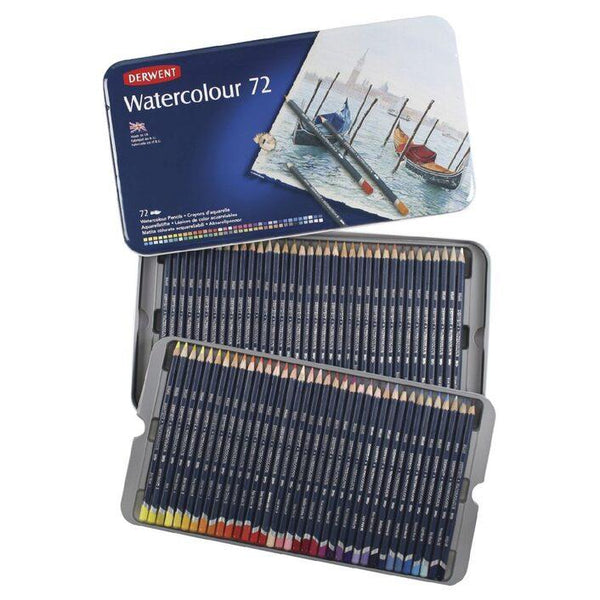 Derwent Watercolour Pencils Set of 72