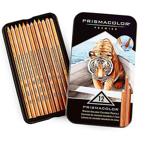 Prismacolor Premier 12 Water-Soluble Colored Pencil Set