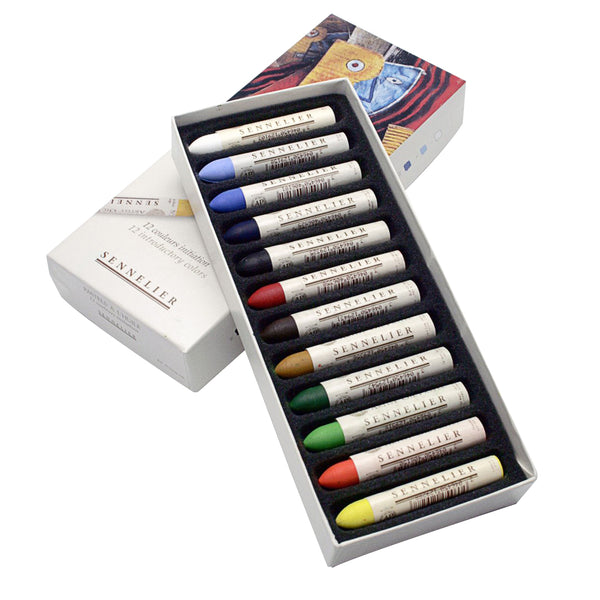 Sennelier Artist Quality Oil Pastels Box of 12