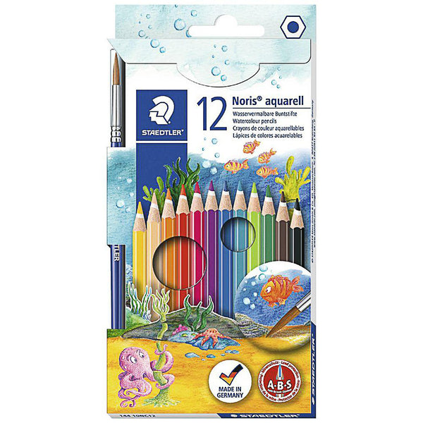 Coloured Pencils Staedtler Watercolour Pencils 12 Pack