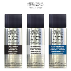 Winsor & Newton Professional Satin Varnish Spray 400mL