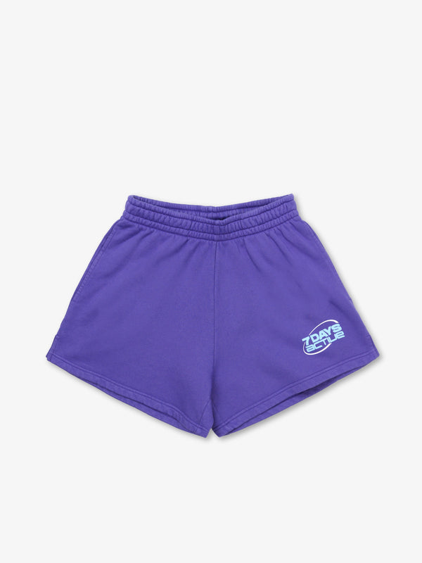 7 DAYS Cotton Shorts Shorts 716 Liberty Purple