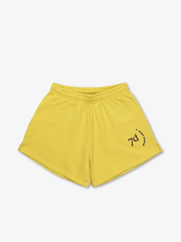 7 DAYS Cotton Shorts Shorts 804 Acacia Yellow