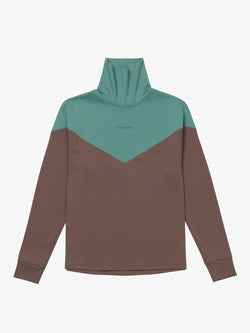 7 DAYS Turtleneck Shirts 520 Brown/Green