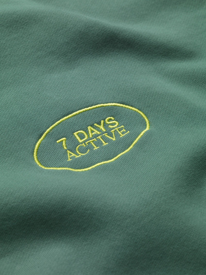 7 DAYS Hoodie Oversized Shirts 208 Duck Green