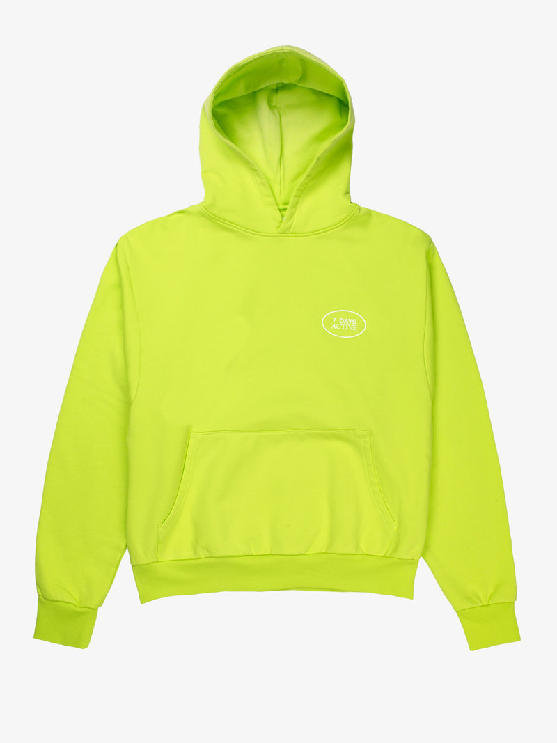 7 DAYS Hoodie Oversized Shirts 209 Acid Green