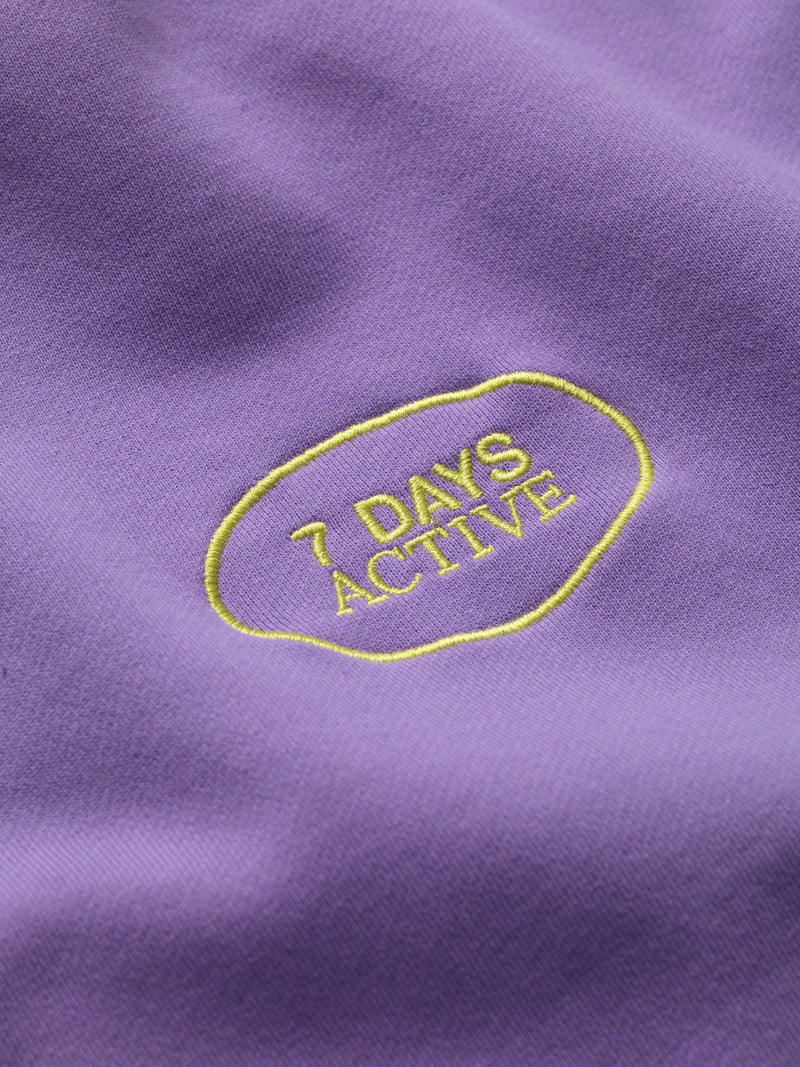 7 DAYS Hoodie Oversized Shirts 704 Fairy Purple