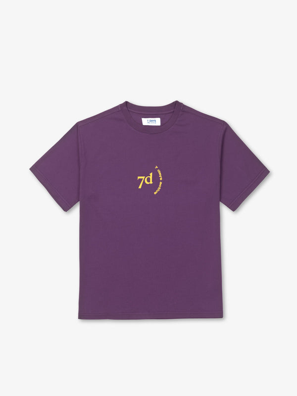 7 DAYS Korean OT Shirts 715 Plum Purple